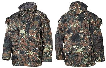 MFH Hombres Commando Chaqueta Smock Flecktarn tamaño S