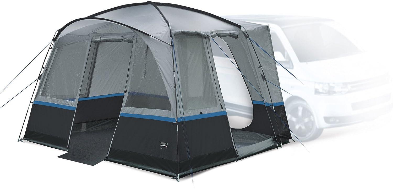 High Peak 14155 Buszelt Tour Für Van SUV Bus Camping Vorzelt Busvorzelt 3000 mm Wassersäule 7 mm Keder