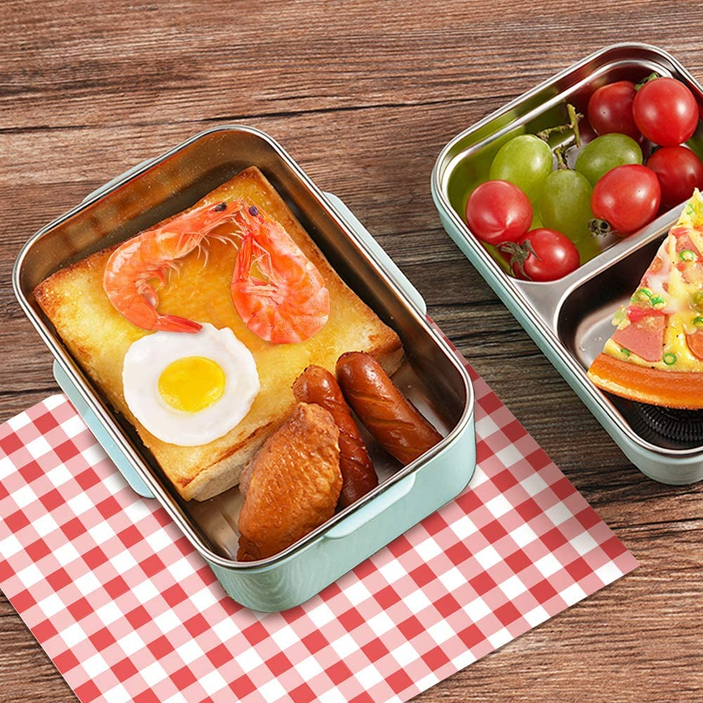EASY OPEN /& CLOSE Design STACKABLE DURABLE Meidon Bento Box Leakproof Lunch Boxes For Kids /& Adults LEAK-PROOF