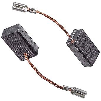 2 Motorkohlen Kohlebürsten für Bosch Winkelschleifer GWS 600