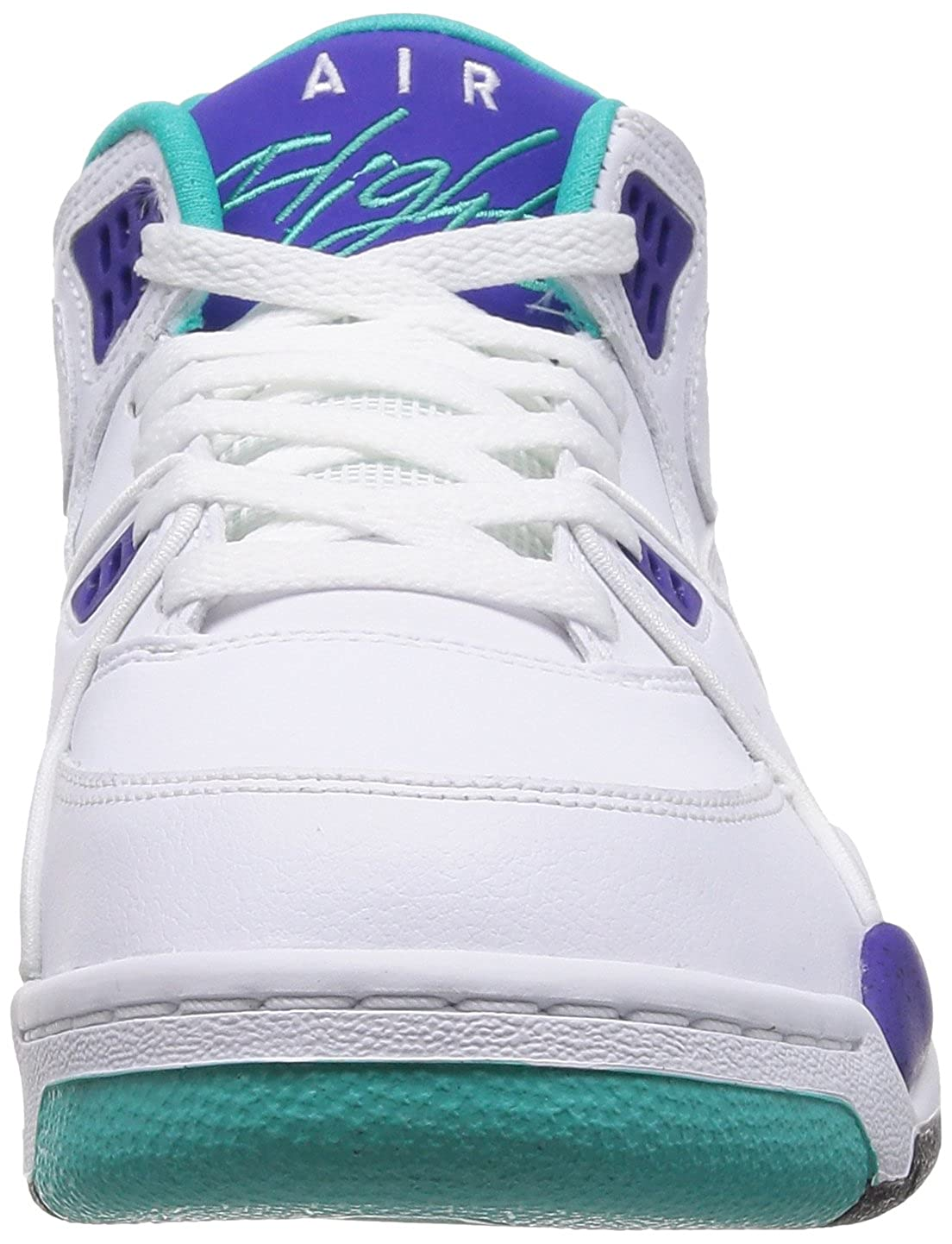 newest 22aa7 9ca61 Nike Air Flight 89 - White/White-Dark Concord-Hyper Jade, 13 D US:  Amazon.in: Shoes & Handbags