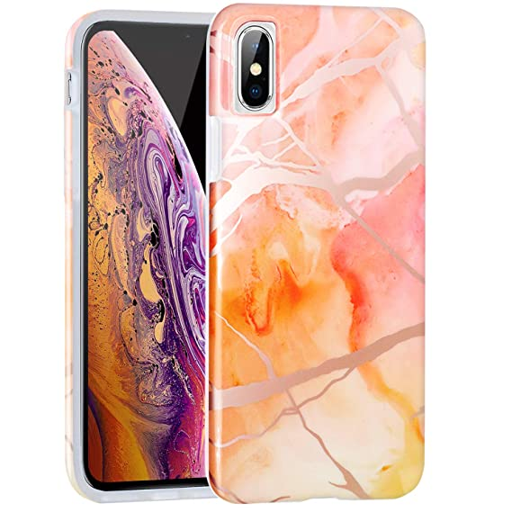 orange iphone xs max case
