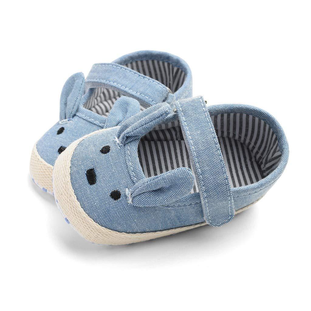 LIKESIDE Girl Ballet Non-Slip Toddler for Kid Infant Blue