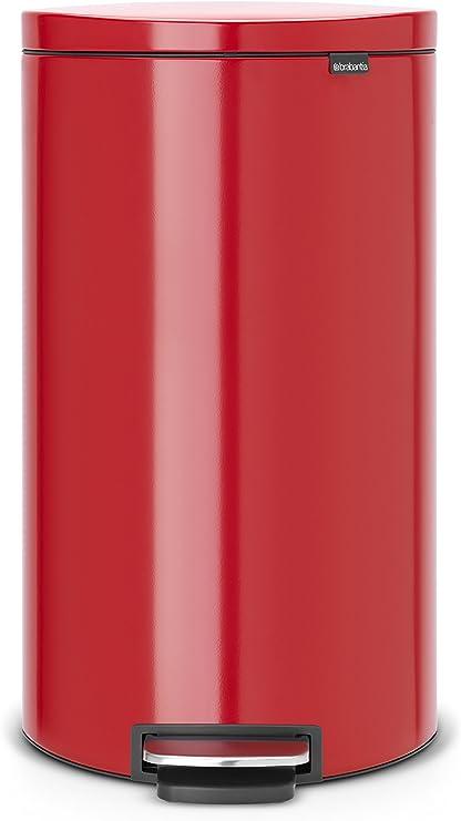 Brabantia 484988 Poubelle Pedale Flatback Avec Seau En Plastique