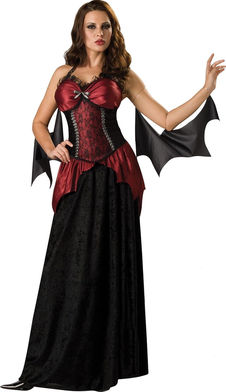In Character Costumes - Disfraz de vampira para mujer, talla UK 8 ...