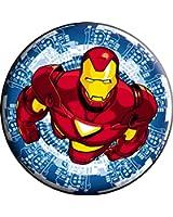 "Iron Man Blue - Marvel Comics - Pinback Button 1.5"""