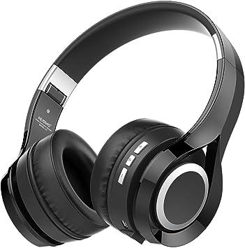 NUBWO S1 Bluetooth 4.1 Inalámbrico Auriculares Plegable Estirable Multi-fonction Cancelación de Ruido con Micrófono en Línea y Audio Compatible con Smartphone / Tableta / PC / Smart TV (Negro): Amazon.es: Electrónica