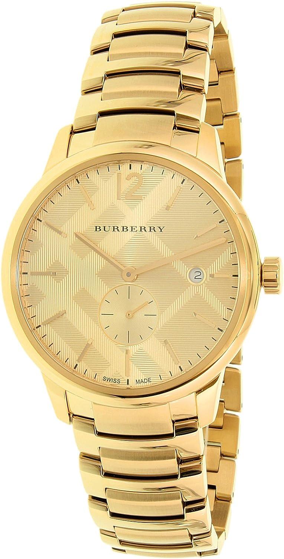 Para hombre Burberry el clásico reloj bu10006