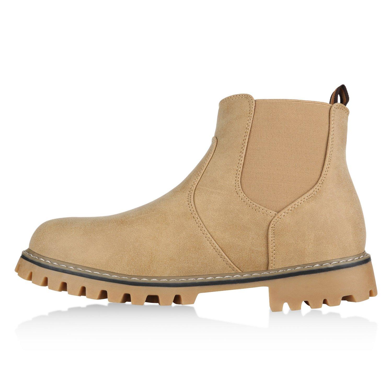 b765ad66770aed Stiefelparadies Herren Chelsea Boots Warm Gefüttert Flandell  Amazon.de   Schuhe   Handtaschen