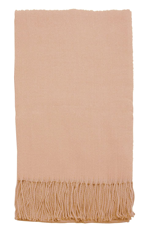 Simplicity Soft Warm Vegan Cashmere-Alternative Throw Blanket, 1116_Black