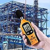 Flexzion Decibel Meter Digital Sound Level Tester