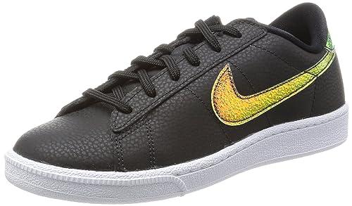 newest c8413 e0b7d Nike Women s Wmns Tennis Classic Prm Tennis Shoes Black Size  4.5