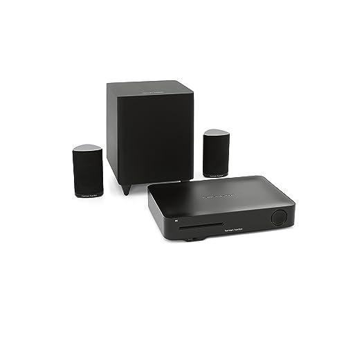 Harman Kardon HKTS 335 Système 2.1 Blu-Ray Disc 4K 3D canaux Wi-FI/Bluetooth 200 W Noir