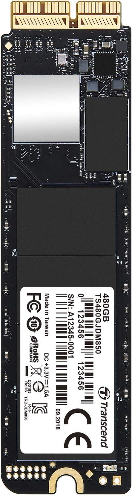 Transcend 480 Gb Jetdrive Jdm 850 Nvme Pcie Gen3 X4 Ssd Computer Zubehör