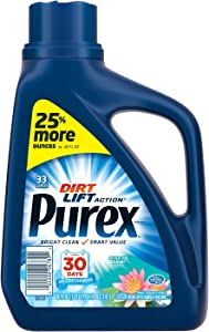 Purex 04789 Liquid HE Detergent, After the Rain Scent, 50oz Bottle (Case of 6)