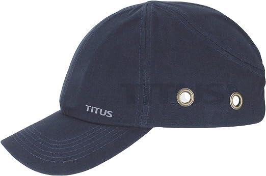 Titus Gorra de seguridad ligera – Gorra protectora estilo béisbol ...