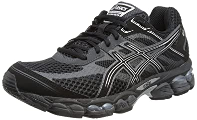 a81349d78fa4cf ASICS Mens Gel-Cumulus 15 M Black Onyx Charcoal Running Shoes T3C0N 9099