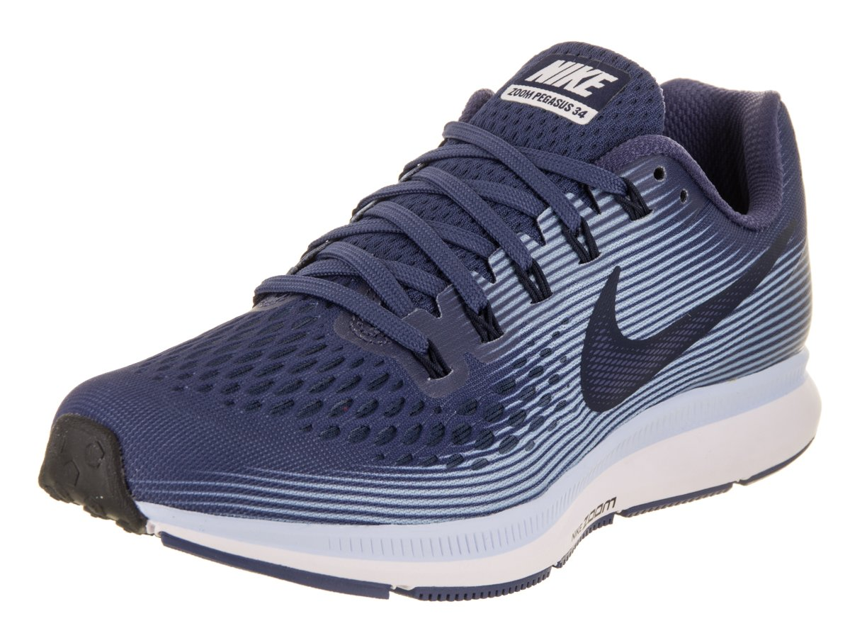 f17e20ad150 Galleon - NIKE Women s Air Zoom Pegasus 34 Running Shoe Blue  Recall Obsidian Royal Tint Black Size 8.5 B US