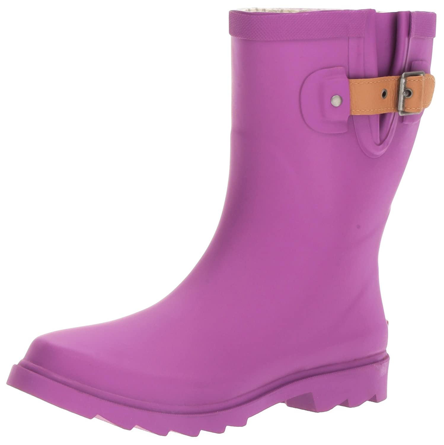 Chooka Women's Mid-Height Rain Boot B01LVZ9Q7H 9 B(M) US|Deep Orchid