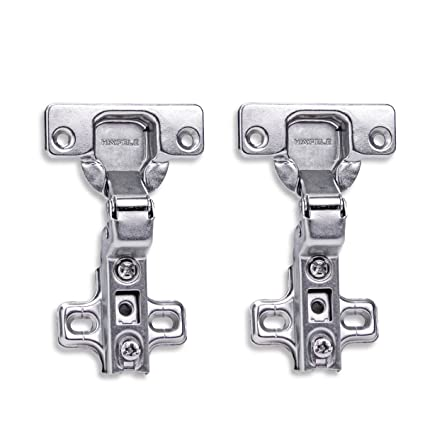 HAFELE 110 Degree Inset Hinge Without Integrated Buffering Kitchen Cabinet  Cupboard Wardrobe Door Hinges with Slide on Arms Automatic Closing Spring