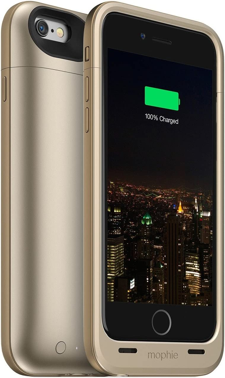 Mophie Juice Pack Plus – Funda Protectora para Recargable Lote de Funda para iPhone 6/6S – Negro (Certificado Reformado): Amazon.es: Electrónica