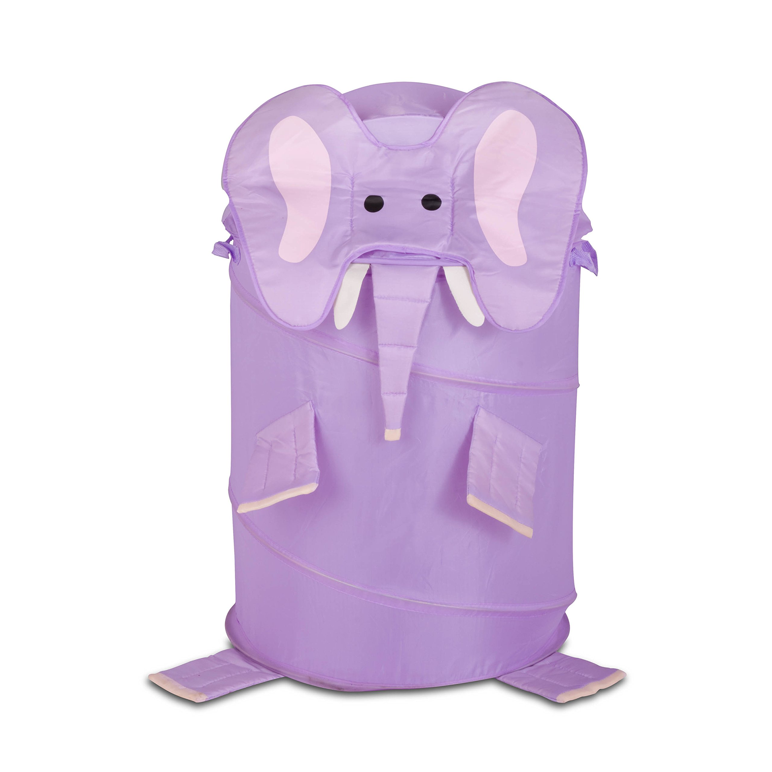 Honey-Can-Do HMP-02061 Kid's Pop-Up Hamper, Elephant, Large