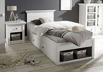 Dreams4Home Funktionsbett U0027Steffen IVu0027   Bett, Doppelbett, Jugendbett,  Schlafbett, Gästebett