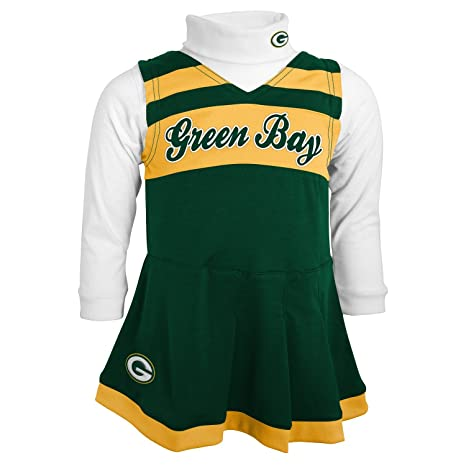 best cheap 9fe8b e7093 Image Unavailable. Image not available for. Color  NFL Green Bay Packers  Girls ...