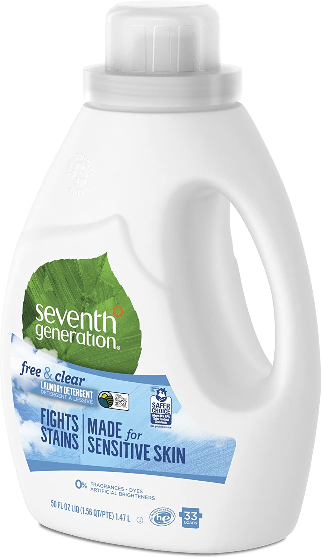 Seventh Generation Detergente líquido para lavandería, libre y ...
