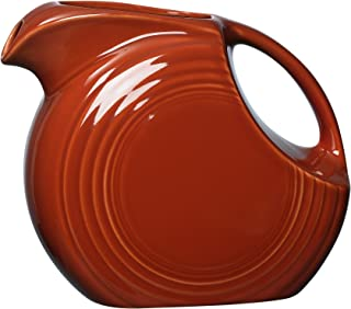 product image for Fiesta 67-1/4-Ounce Large Disk Pitcher, Paprika