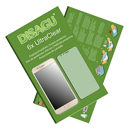 2 opinioni per 6 x Disagu Ultra Clear Pellicola Protettiva per Huawei Honor 8