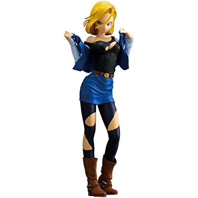 Banpresto Dragon Ball Z Glitter & Glamours Android 18 A Action Figure: Toys & Games