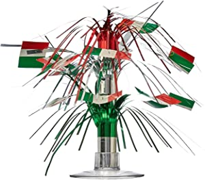 Italian Flag Mini Cascade Centerpiece Party Accessory (1 count) (1/Pkg)