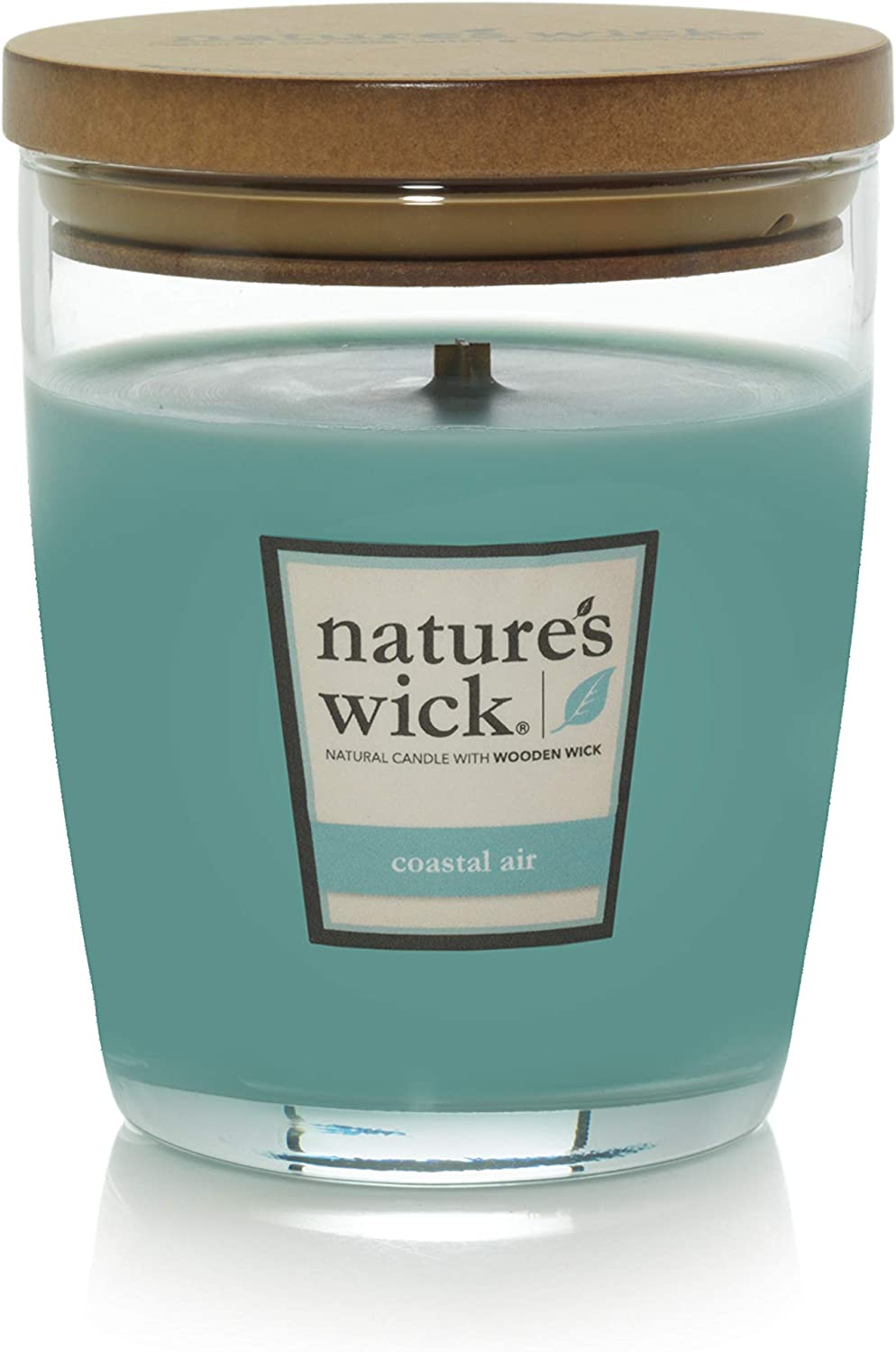 Nature's Wick Coastal Air Scented Candle