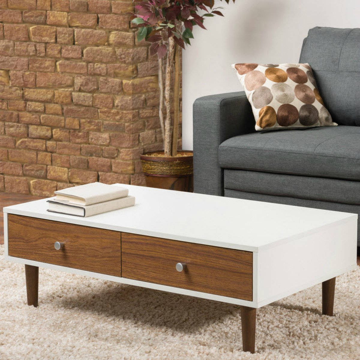 Contemporary white coffee table with storage for your modern living room furniture best looks guaranteed small modern coffee tables are now most popular