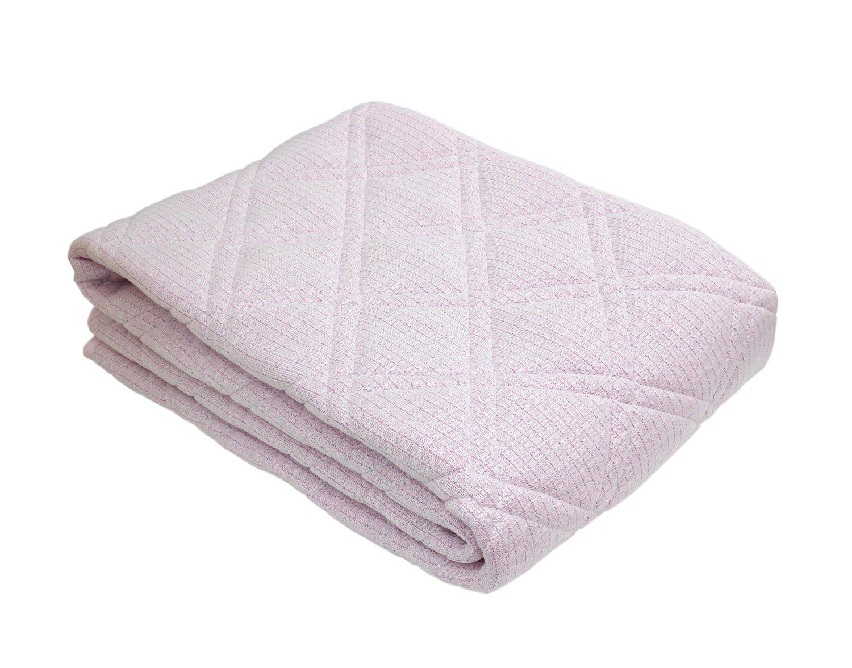 京都【ロマンス小杉】アイス眠 レギュラー 敷きパッド セミダブル ピンク B01D6U9FXI ピンク ピンク