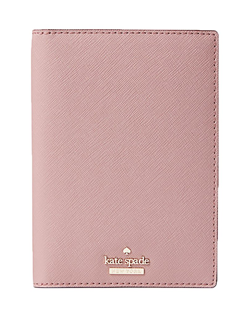 Kate Spade New York Women's Cameron Street Travel Passport Holder (Dusty Peony) by Kate Spade New York