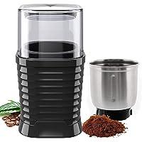 TAKRINK Coffee Grinder Electric Coffee Bean Grinder Spice Grinder 200W 70g Capacity High-Quality Blade Anti-Slip Design…