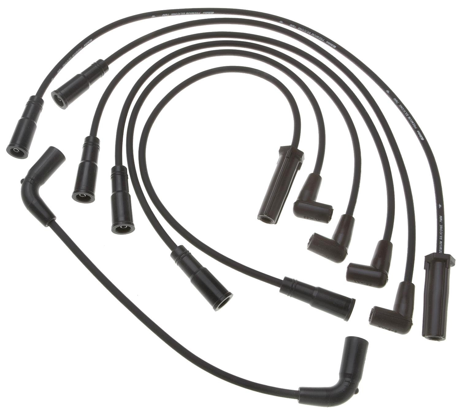 amazon acdelco 9746t professional spark plug wire set automotive Delco Remy