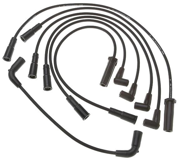 Amazon Com Acdelco 9746v Professional Spark Plug Wire Set Automotive