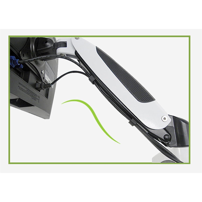 HFTEK/® Supporto da parete Supporto da scrivania per Monitor Staffa da Parete per TV HF17SW