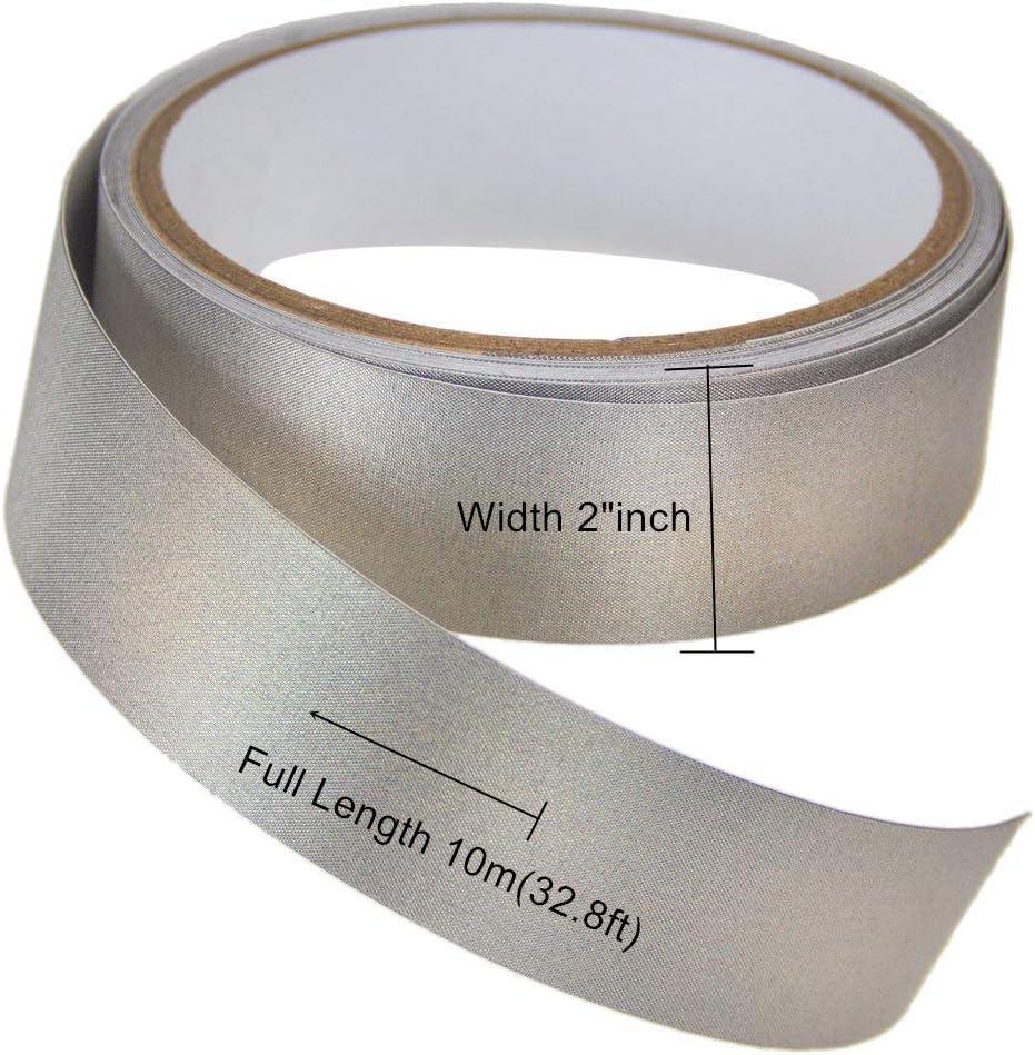 "Conductive Fabric ni//cu Electrode radiowave blocking RF EMF shielding 39/""x43/"""