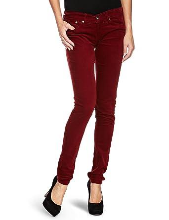 low priced bcc6e 08a76 Pepe Jeans Damen Jeans Niedriger Bund PL210004T742 - Pixie ...
