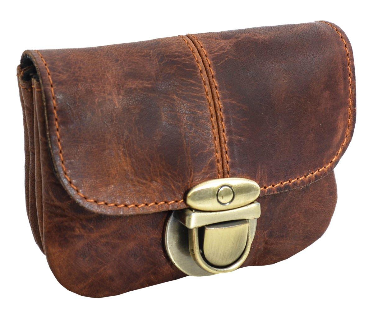 Marsupio di Gusti Leder studio Chapal borsa a vita borsetta vacanza sport vintage marrone 2G40-48-2