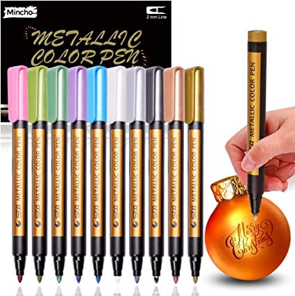 Konker Colors Acrylic Paint Markers Endlessly Refillable Permanent...