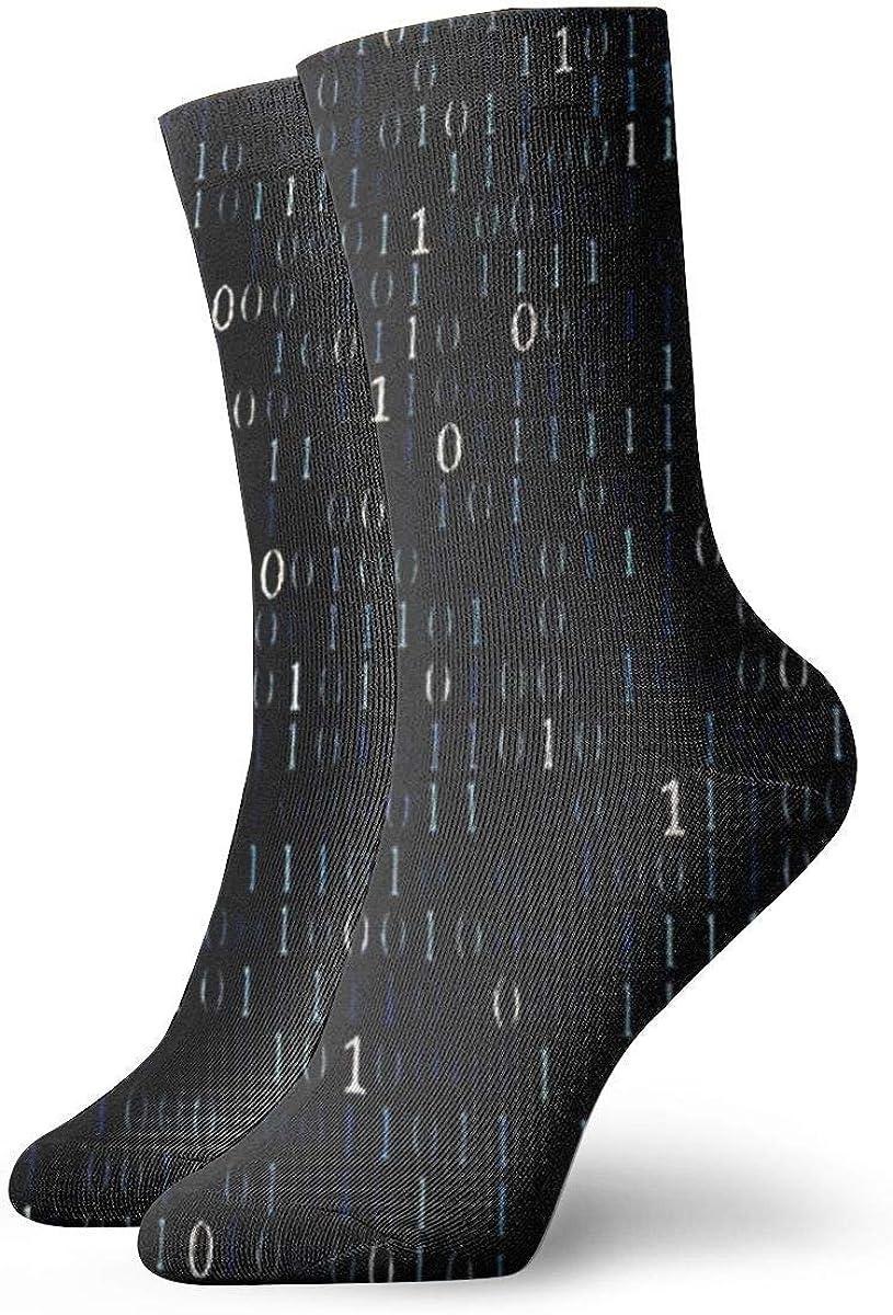 lkjhg478 Números arábigos Calcetines de vestir unisex Calcetines divertidos Calcetines casuales 30 cm (11.8 pulgadas)