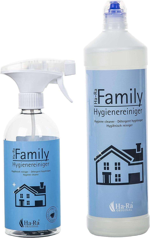 Ha-Ra Family - Set de limpieza para la higiene de la familia ...