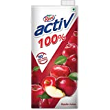 Real Activ 100% Apple Juice, 1L