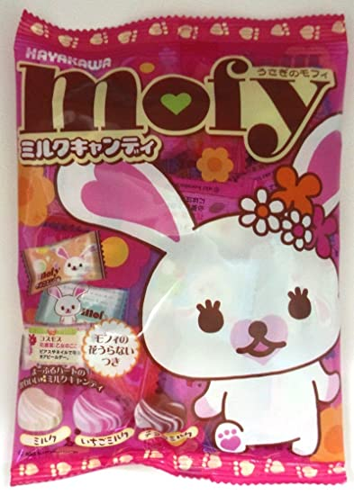 Mofi dulce de leche 80gX20 bolsas de conejo confiter?a Hayakawa