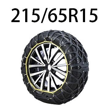 HEIFEN Cadena De Nieve para Automóvil, Automóvil SUV Invierno Emergencia Invierno Fangoso Oxford Ancho De Neumáticos 205-255 Modelos Múltiples: Amazon.es: ...